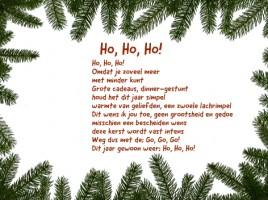 kerstkaarten tekst van Flo.P