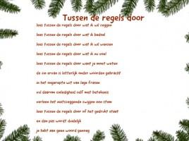 kerstkaarten tekst Henk vd Velde