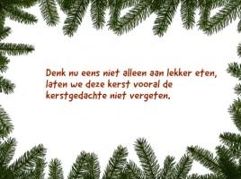 kerstkaarten tekst Sander van der Geer