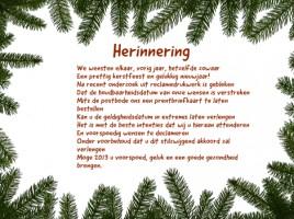 kerstkaarten tekst Sven Heyrman