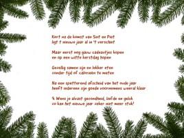kerstkaarten tekst Valerie Thirifays