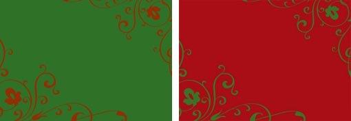 Achtergronden in kleur voor je kerstkaarten fotokaarten - Kleuridee voor een gang ...