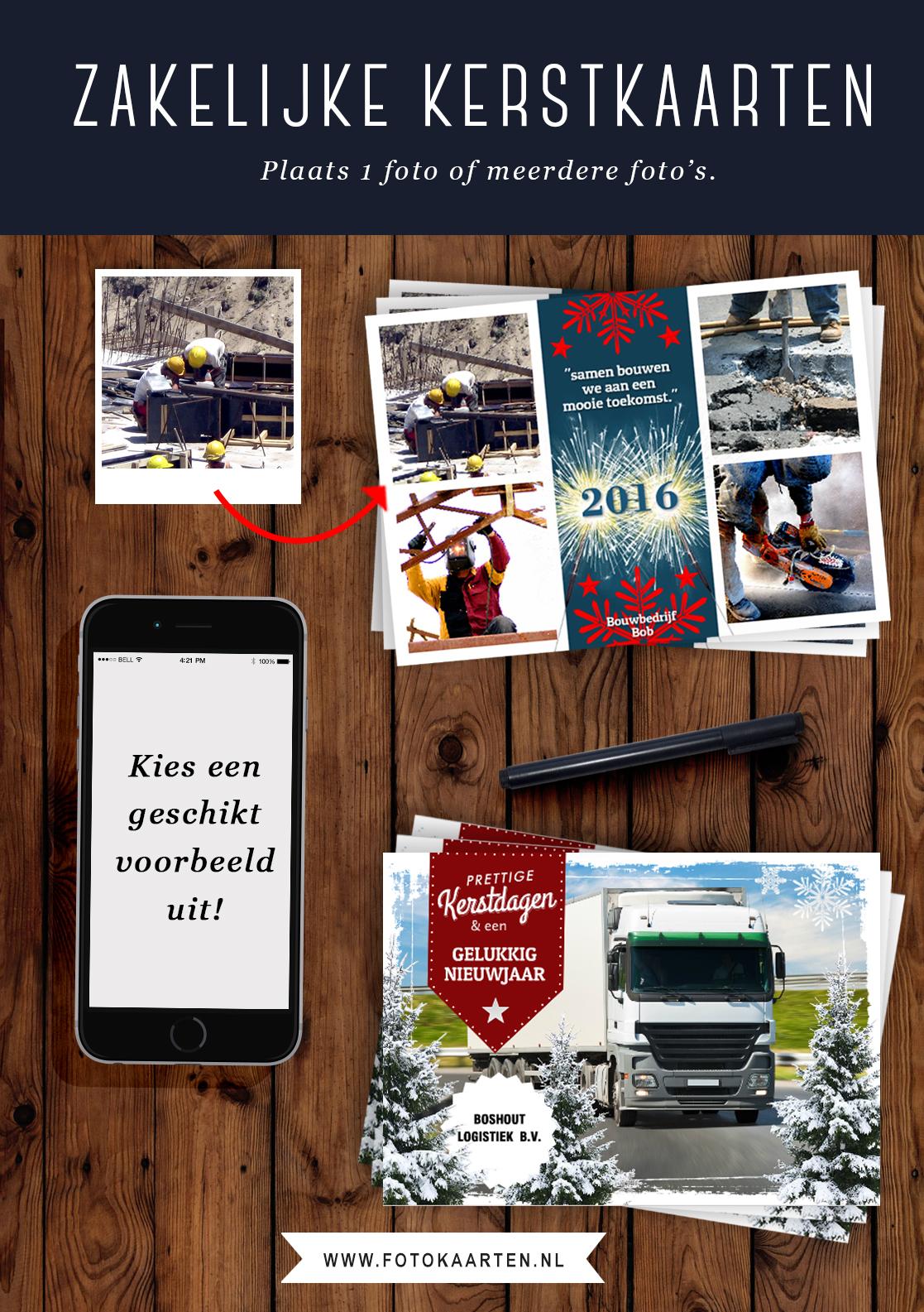 Zakelijke kerstkaarten, tips voor kerstkaarten, marketing, bedrijfskaarten, mooie kaarten laten drukken met foto.