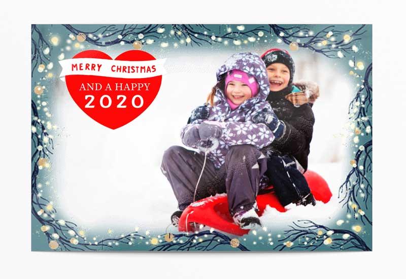 Kerstfotokaart 2019