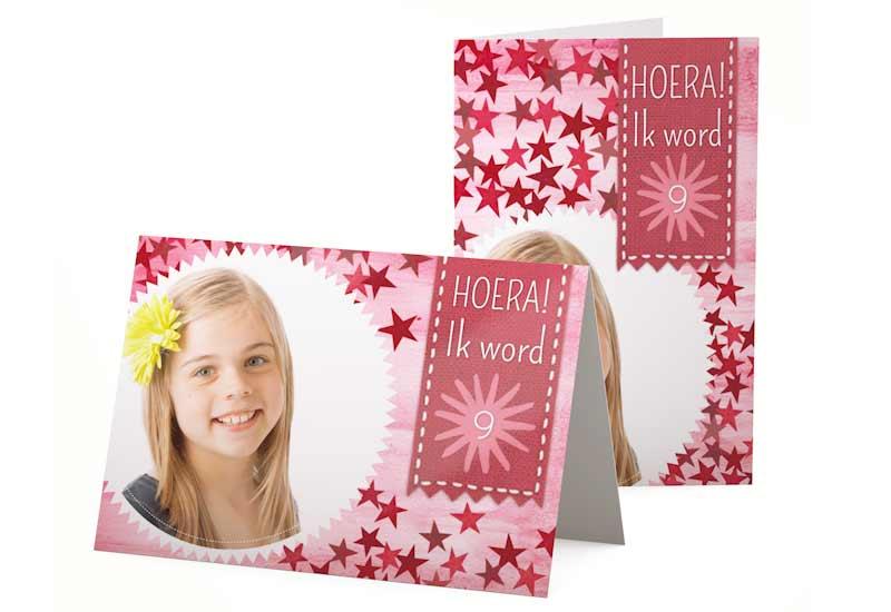 Girly Uitnodiging Verjaardag