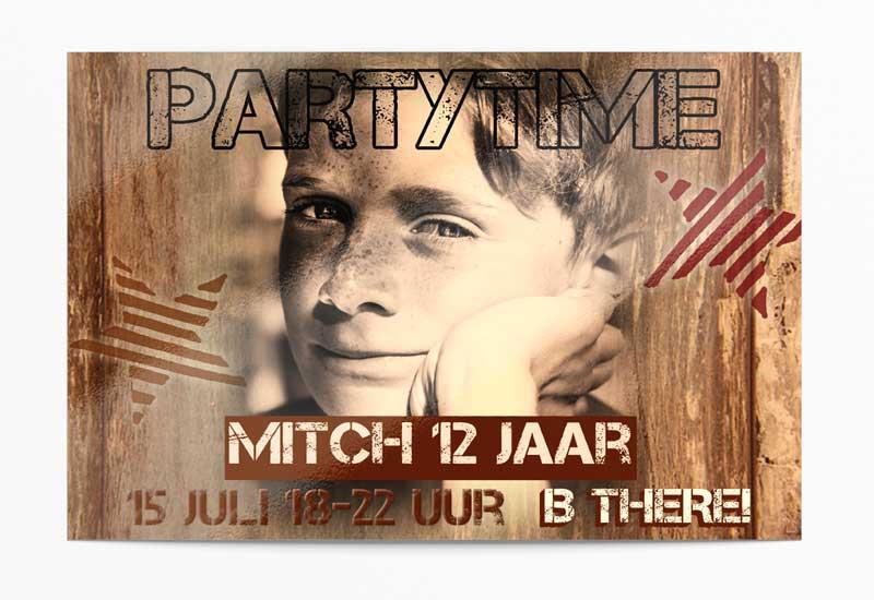 Partytime! Uitnodiging