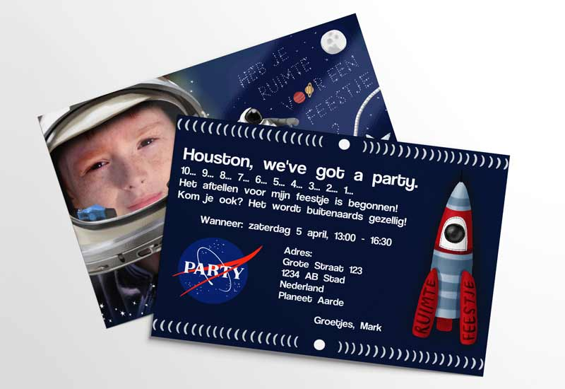 Space en ruimtefeestje