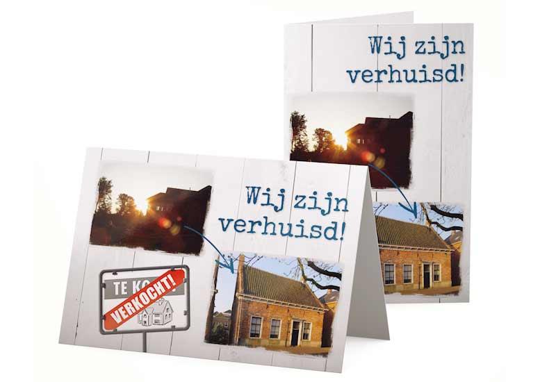 Verhuiskaart met meerdere foto\'s