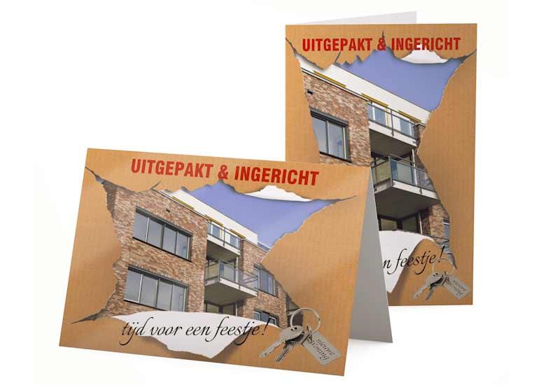 Verhuiskaart Uitgepakt en Ingericht