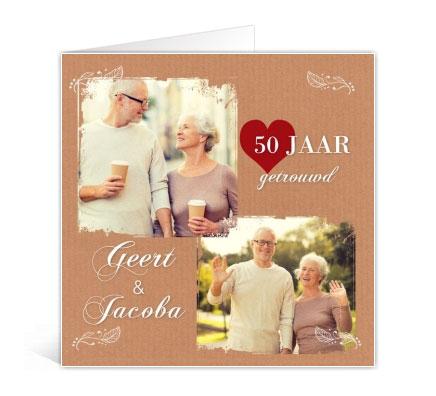 voorbeelden kaarten 50 jaar getrouwd Voorbeelden van jubileum uitnodigingen met foto – Fotokaarten voorbeelden kaarten 50 jaar getrouwd