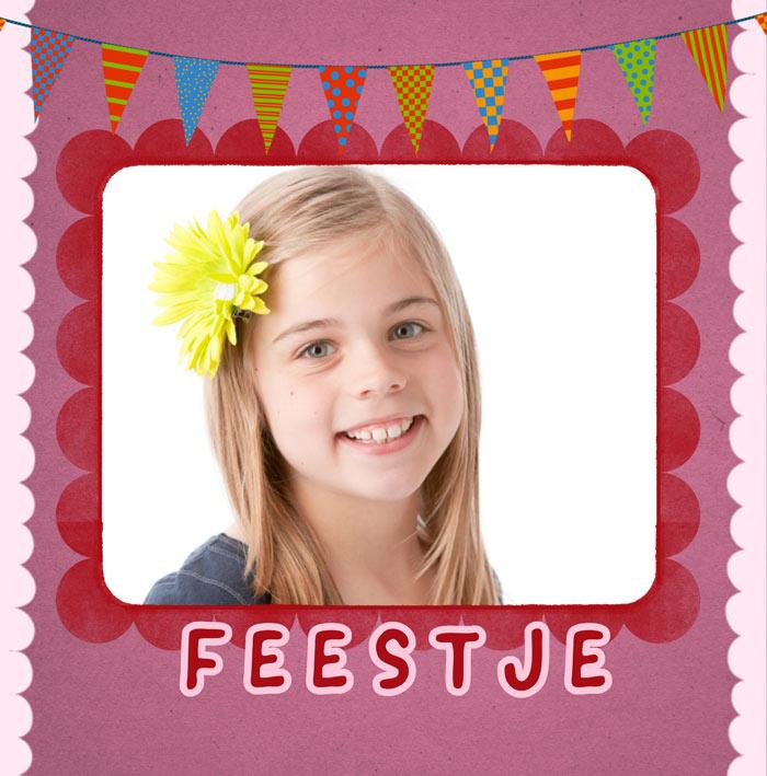 Top De leukste uitnodigingen voor een kinderfeestje - Fotokaarten #LT07