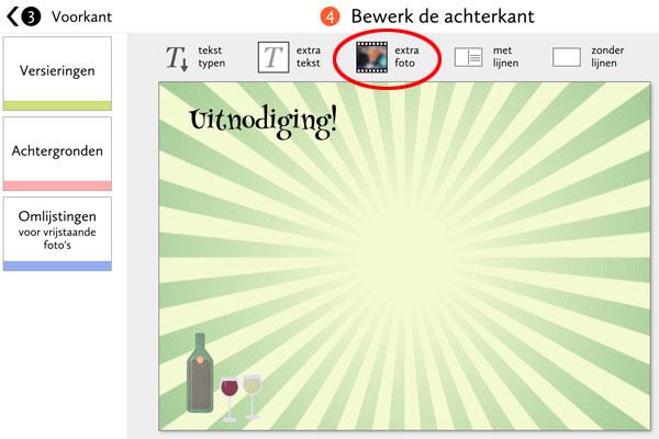 Voeg extra foto toe bij Fotokaarten.nl