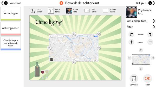Google Maps verschijnt in je ontwerp