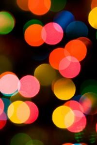 kerstkaart inspiratie: licht