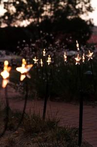 kerst kaart inspiratie: avondlicht