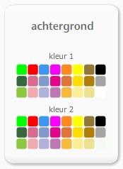 achtergronden in je favoriete kleurcombinatie