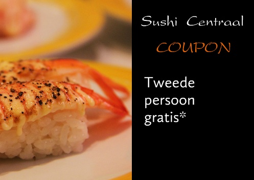 coupon met foto