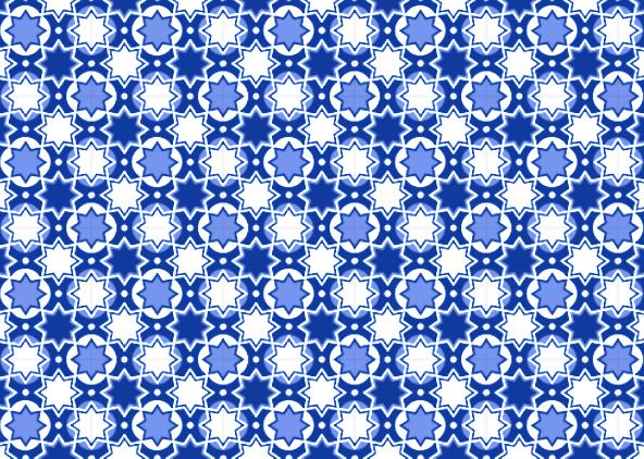 fotokaarten achtergrond patroon in blauw
