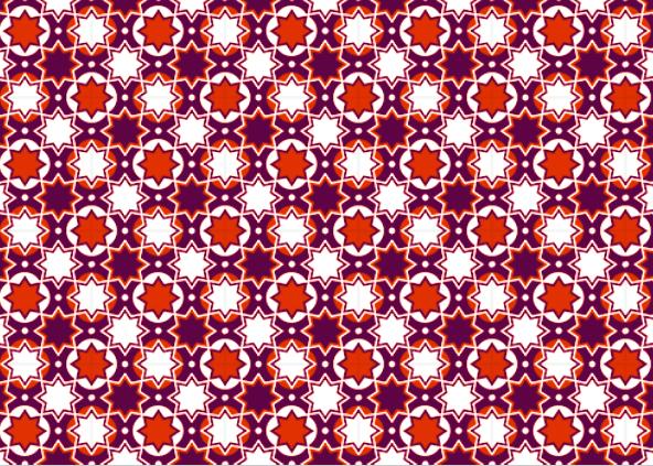 fotokaarten achtergrond patroon in rood en paars