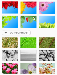 fotokaarten thema natuur