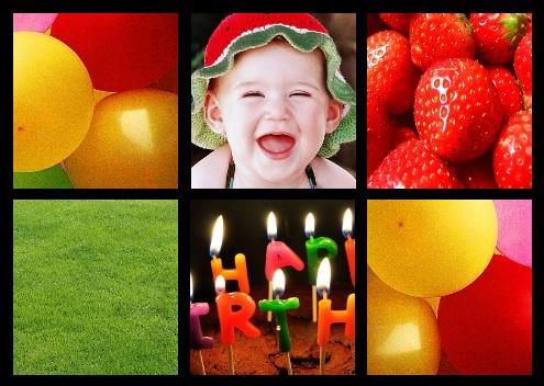 fotokaarten voorbeeld collage
