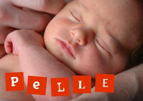 geboorte kaartje foto