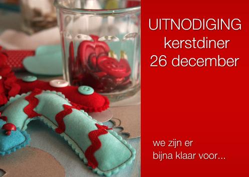 kerst uitnodiging zelf maken