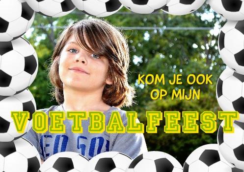 kinderfeestje voetbal