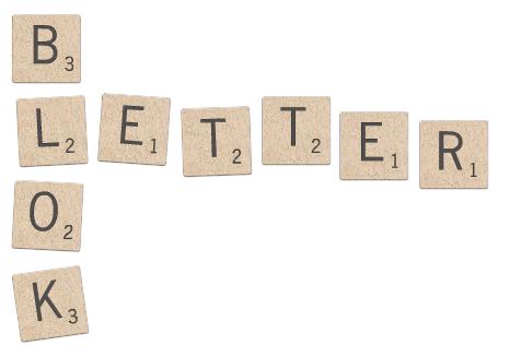 houten letterblokjes voor je footkaart