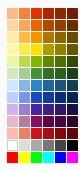 nieuw kleur palet fotokaarten