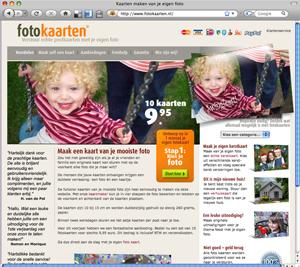 een schermafdruk van de website