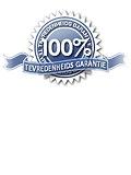 100% tevredenheidsgarantie