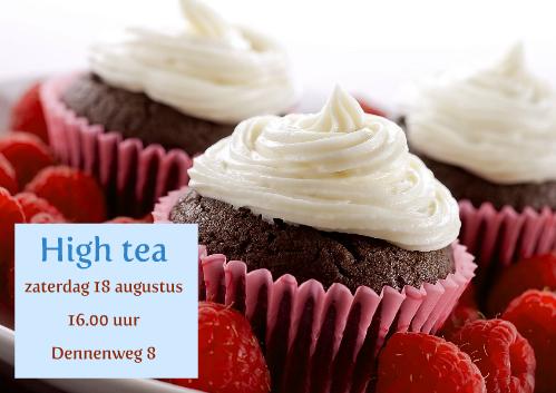 uitnodiging high tea