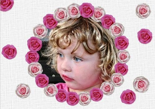 kinderfeestje uitnodiging rozen
