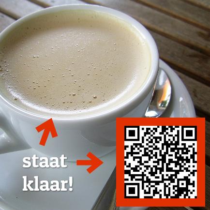 foto verhuiskaart met qr code