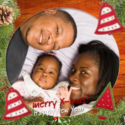 voorbeeld foto kerstkaart familieportret