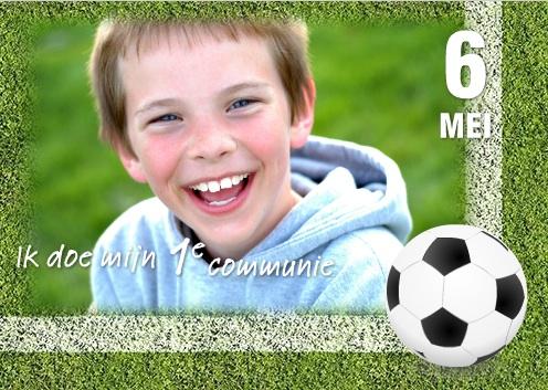 voorbeeld uitnodiging eerste communie jongen
