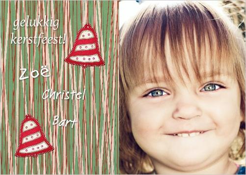 voorbeelden kerstkaarten kerstkaart twee fotos
