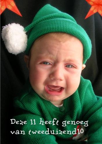voorbeelden nieuwjaarskaarten huilende elf