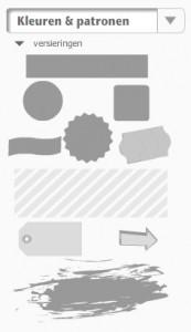 eenvoudige vormen die je kan vervormen en inkleuren